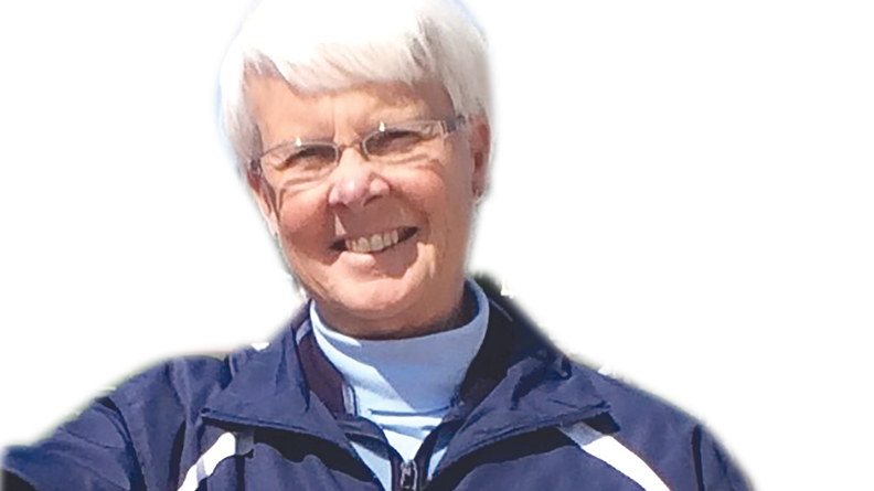 Linda Berner Adams, 69, of Rochester, for more than 30 years taught, coached and mentored girls in physical education and team sports, after instituting teams for girls at Eastridge High School in Irondequoit. Adams never missed a season of coaching field hockey. Photo was taken during the spring 2015