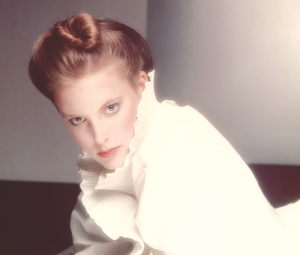 Friel during the early1980s when she worked for Ford Models.