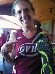 Carolyn Smith-Hanna wanted to simply run a 5K in 2007, when she was 49. Now at 65, she is a key member of her 60-69-year-old team that has won multiple USATF National Championship team events including the past two years.