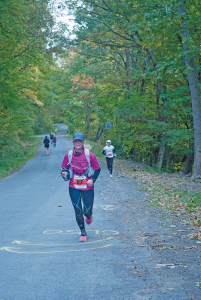 "These days Mary DaSilva, 69, of Brewerton, runs ultra-marathons, which is anything over 26.2 miles and up to 100 miles. ""Once you retire, all of a sudden all the long days you put in are gone. You have to have something to keep you going,"" she says."