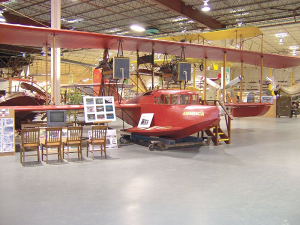 Glenn H. Curtiss Museum of Aviation History in the village of Hammondsport underwent a $1.2 million renovation, which was completed in June. It's now larger and visitors can enjoy more exhibits and items on its collection.