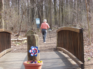Greenbelt Nature Center is three times the size of Central Park and a contiguous stretch of green land with miles of hiking trails.