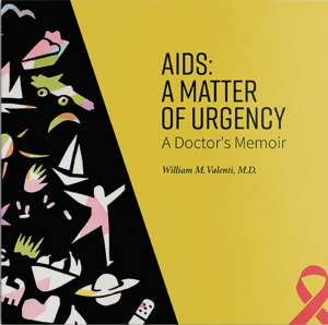 "Valenti has chronicled his journey in his recently published book, ""AIDS — A Matter of Urgency."""