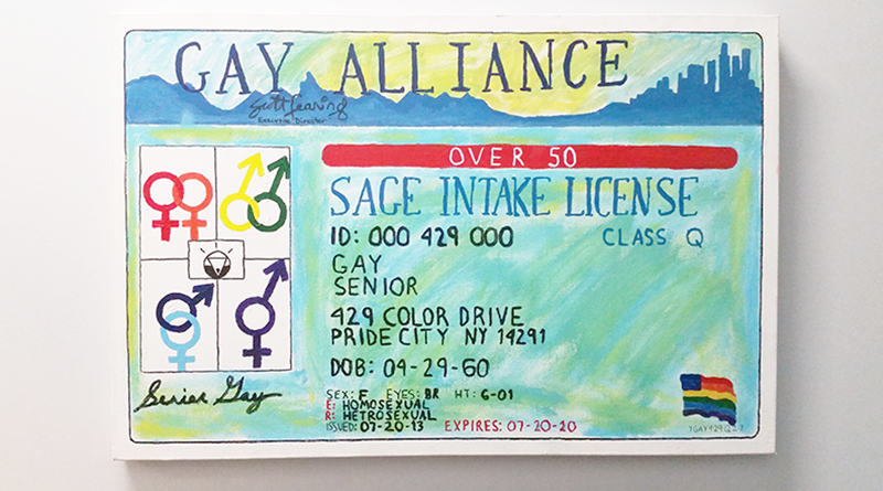 gay alliance art