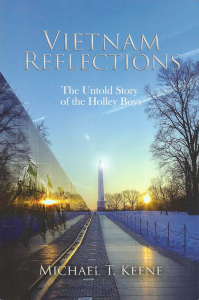 """Cover of """"Vietnam Reflections: The Untold Story of the Holley Boys,"""" which was published last year by Michael T. Keene, a Pittsford resident."""