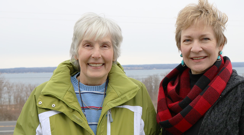Sandy Wallace and Jewel Burr spent time hiking on the Appalachian Trail last year. In previous years, they biked in Canada and from Buffalo to Gloucester, Mass., and ran three marathons.