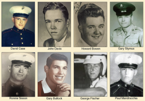Eight soldiers from same town that lost their lives in Vietnam