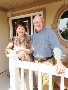 Nancy Graser and her husband Jerry Graser recently welcomed their son, Geoff, age 43, back to their Victor home, but he left after a few months.