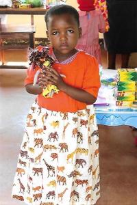 Tanzanian Kindergartener