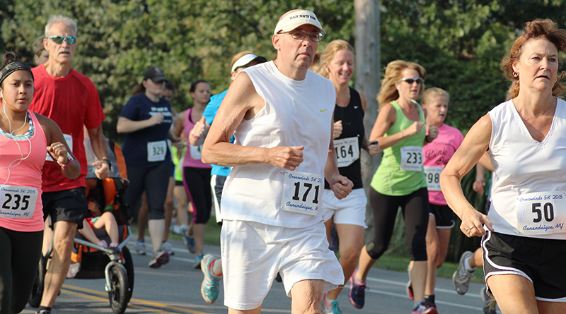 Bruce Rychwalski in 2016 participating in one of his 300 races