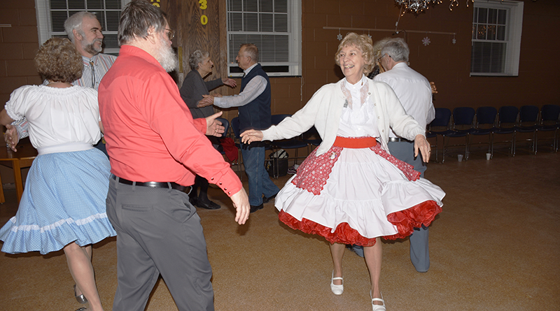 Carl and Eileen Webster met at a square dancing event and wound up getting married. Photo courtesy of Jet Thomas.