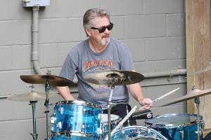Drummer Bob Voellinger, 69