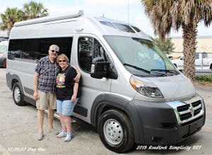 "Last December, the Armstrongs purchased a 2018 Roadtrek, a 19 van that they describe as a ""well-outfitted camper."" The van replaced an older RV the couple owned. Photos courtesy Jack and Niki Armstrong"