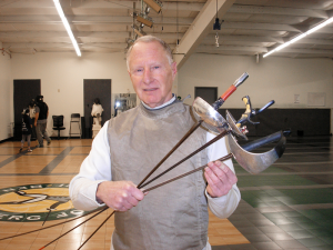 Steven Sussman, 71, of Pittsford, who practices at Rochester Fencing Club, finished 11th among 22 fencers in his age bracket who competed in Cincinnati, Ohio.