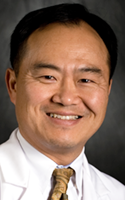 Steve Park, ophthalmologist with Cornerstone Eye Associates in Rochester, a practice that performs 3,000 cataract surgeries every year.
