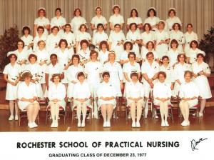 Nursing Class 1977