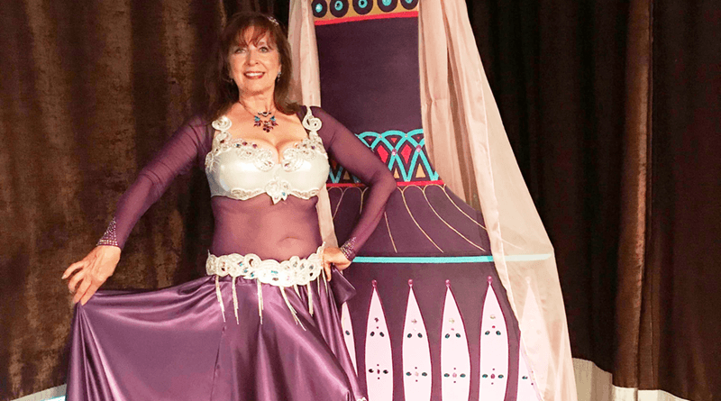 Belly dancer Debbie Robinson.