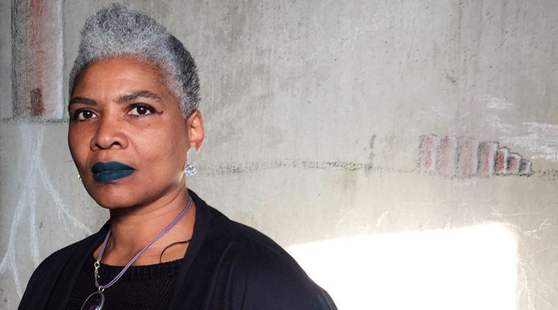 "Annette Daniels Taylor, 54, started coloring her hair when it first became gray but ultimately she said it was too much work. ""I didn't appreciate having a financial dependency on a beauty corporation to simply hide what was actually a beautiful natural occurrence. "" Photo courtesy of Bleu-Ruby Daniels -Taylor."