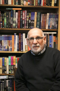 John Cieslinki, owner of Books ETC. in Macedon.