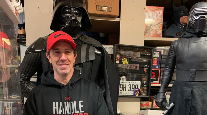 "Charles Leone, owner of Leone's Collectibles in Rochester, says collectibles related to Marvel, DC Comics and Star Wars — whether new or old — are hot right now. ""Whenever there's a new movie on these franchises, they go up."""