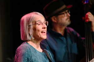 Maria Gillard and her trio March 11 at Downstairs Cabaret Theatre in Rochester. Photos by John Addyman.