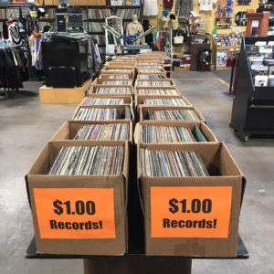 "LPs on sale at Record Archive in Rochester. Alayna Alderman, co-owner, says, ""There are so many reasons why folks prefer vinyl albums over other forms of pre-recorded music."""