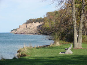 Chimney Bluffs State Park, Wolcott.