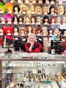 Arlene Stephens, co-owner of Arlene's Costumes in Rochester.