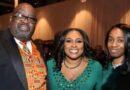 Jeffrey Melvin and his wife Deborah Melvin (left). In the middle is Rochester Mayor Lovely Warren.