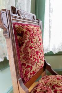 Maxfield Inn chair detail