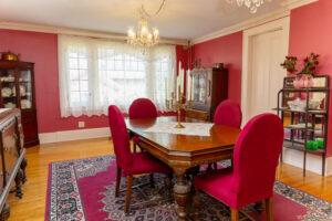 Maxfield Inn dining room
