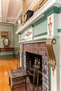 Maxfield Inn fireplace
