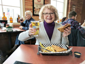 Someone who enjoys a good meal, a good time and a good brew, Nancy Dubner relishes all three at the Genesee Brewhouse in Rochester.