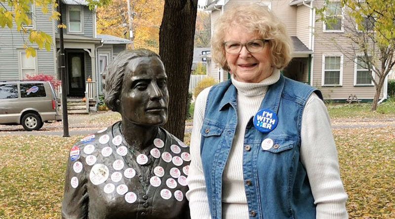 Nancy Dubner and Susan B. Anthony.