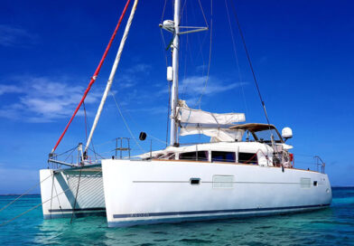 The Fowlers sold their home and just about everything they owned to fund their adventure. They bought Ocean Fox, a 6-year-old 40-foot catamaran for more than $300,000. TheOcean Foxwas built in 2012 and carries two motors, three sails, and has three cabins.