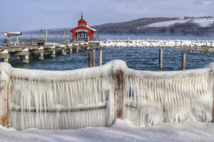 Watkins Glen at south end of Seneca Lake.