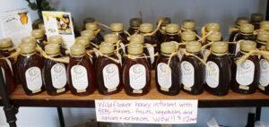 Flavor infused honey