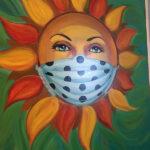 Sun in Mask