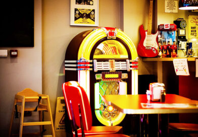 Jukeboxes like this one were a dream addition to a teenager's game room or basement with big sound, bright lights, and lots of recordings inside. Gary Merritt of Webster is a special craftsman who repairs and restores jukeboxes, pinball machines and old slot machines.