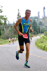 Rochester's Mike McDermott, 58, competed at the Lake Placid Ironman event in 2019 — the last time the event was run because of the COVID-19. At 6-4, he's got a long stride that aided him in the marathon-length run and the 40-mile cycling. Even though he was raised near the ocean in New Jersey, he had to learn how to swim competitively through classes and exercises through the Drop-Ins for Drop-Outs group and RATS (Rochester Area Triathletes). His ironman days are over, but McDermott is ready for more triathlons.