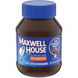 Maxwell House: The company's instant coffee went from more than 30 ounces to 26.8 ounces. While the price remained the same, there are now 30 fewer cups of coffee.