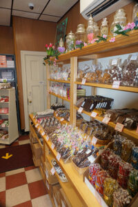 Stever's Candies offers hundreds of delights, including soft, succulent caramels, dark chocolate-dipped strawberries, fresh fudge and a host of other unique goodies