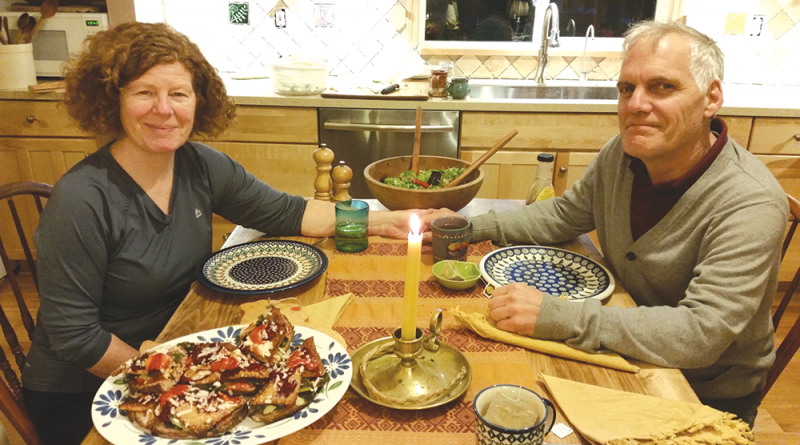 Chili residents Maggie and her husband Daryl Odhner have followed a meat-free diet for nearly 40 years.
