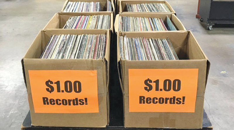 Record Archive in Rochester has a collection of more than 250,000 records, ranging from vintage to the latest releases.
