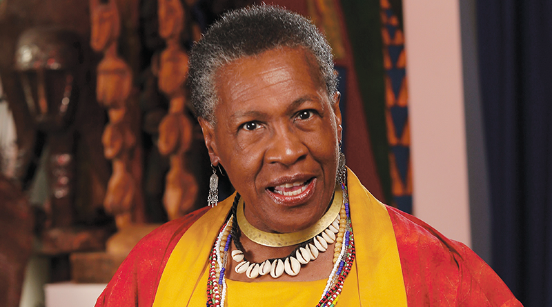 Almeta Whitis, photographed by Chuck Wainwright Oct. 26 at The Baobab Cultural Center, Rochester.