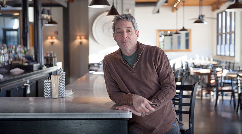 With a passion for renovating, last year Jerry Serafine spent nearly two months renovating his Rochester restaurant, 2 Vine.