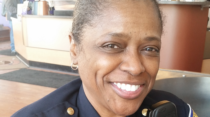 At 58, Sergeant Darlene Rogers is the oldest female police officer in the Rochester Police Department and the only female officer over 55. She is approaching her 30-year anniversary on the job in December.