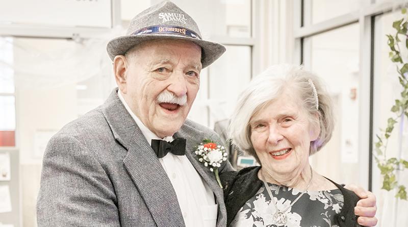 """Rochester residents John Denninger, 82, and Elizabeth """"Ebeth"""" Merkle, 81."""
