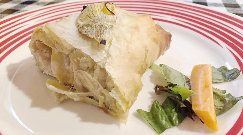 Chicken phyllo at Olives Greek Taverna.
