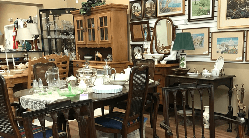 Sweet Charity Resale Boutique & Shop in Fairport is filled with everything — from antique, retro furniture and home decor to vintage jewelry and unique artwork.